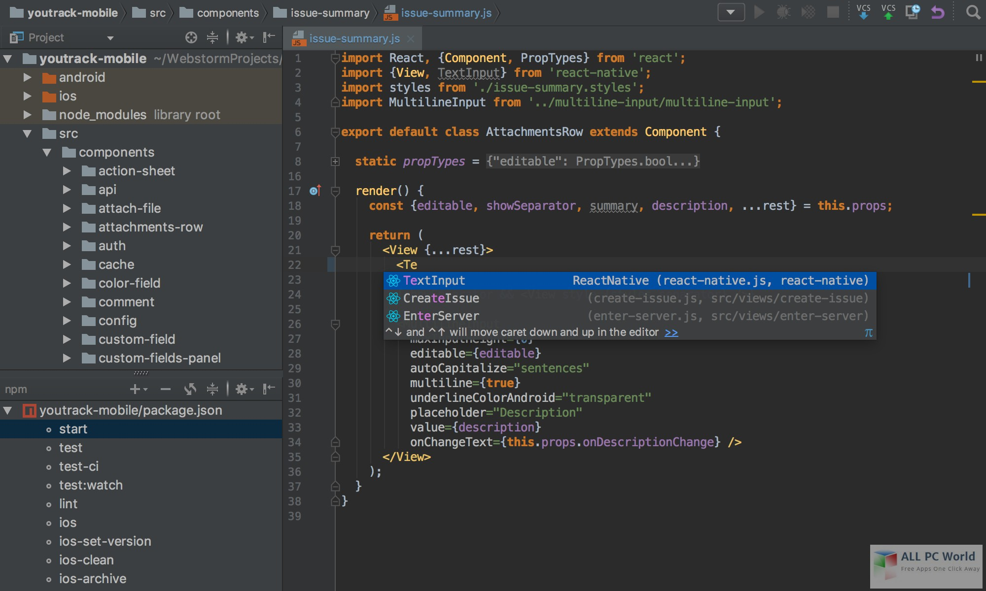 JetBrains WebStorm 2019