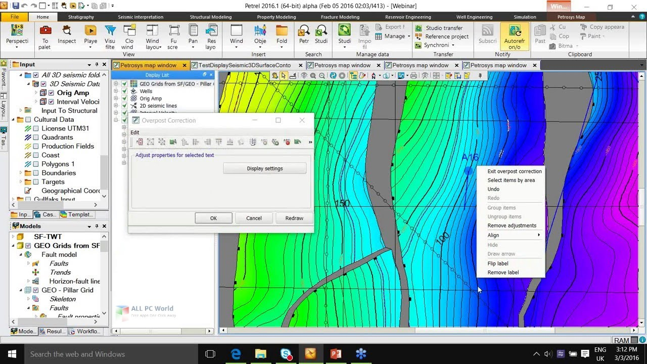 Schlumberger Petrel 2016 Free Download - ALL PC World