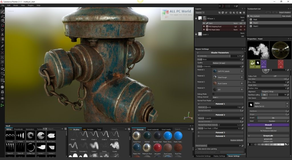 Allegorithmic Substance Designer 2019.1