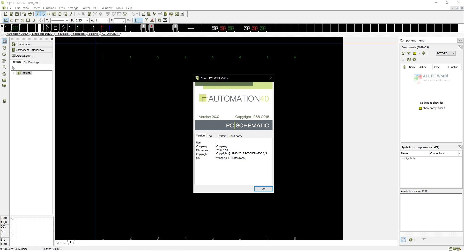 PCSCHEMATIC Automation 20.0 Free Download