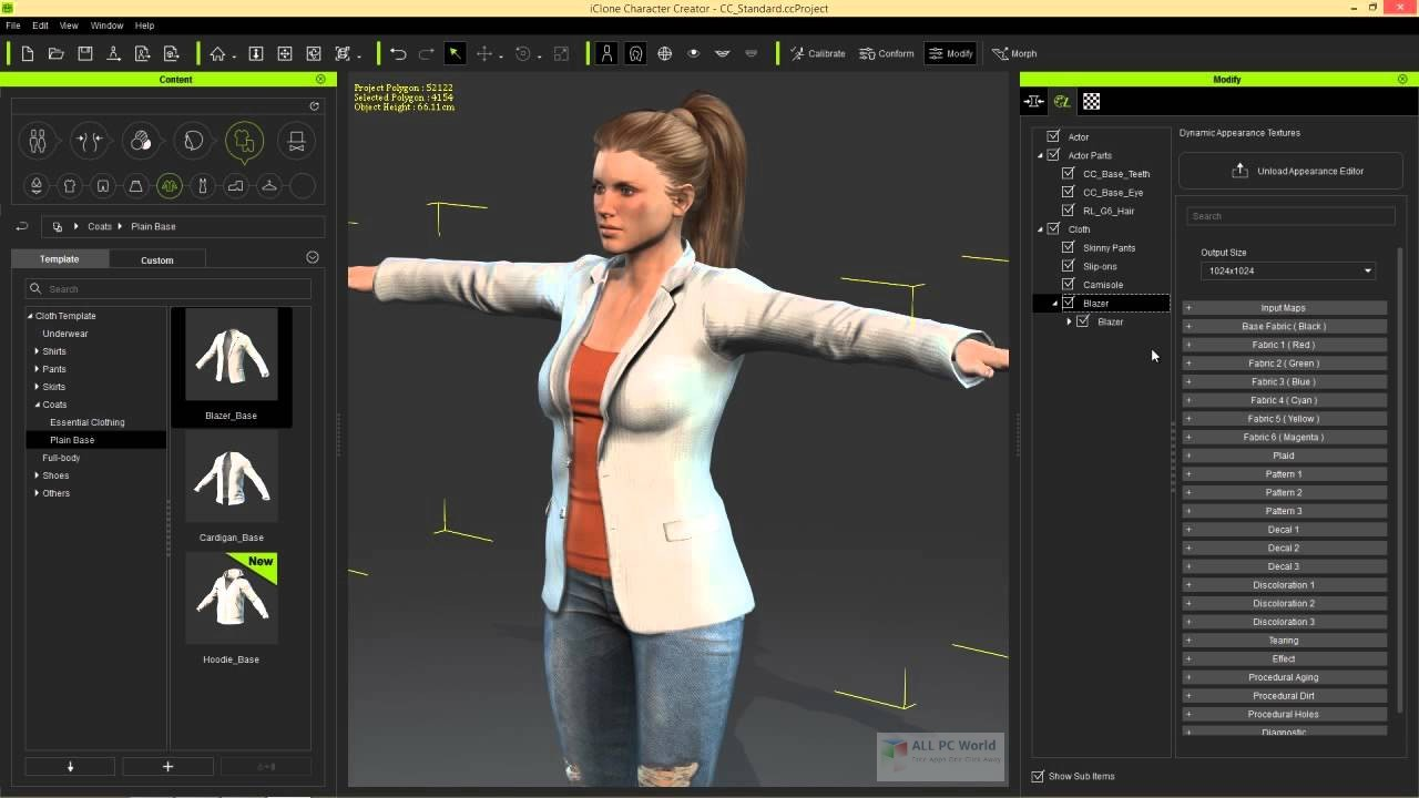 Reallusion iClone Character Creator 3 with Resource Pack