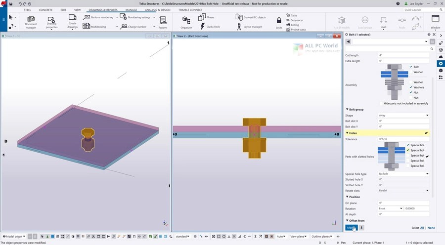 Tekla Structures 2019 Free Download - ALL PC World