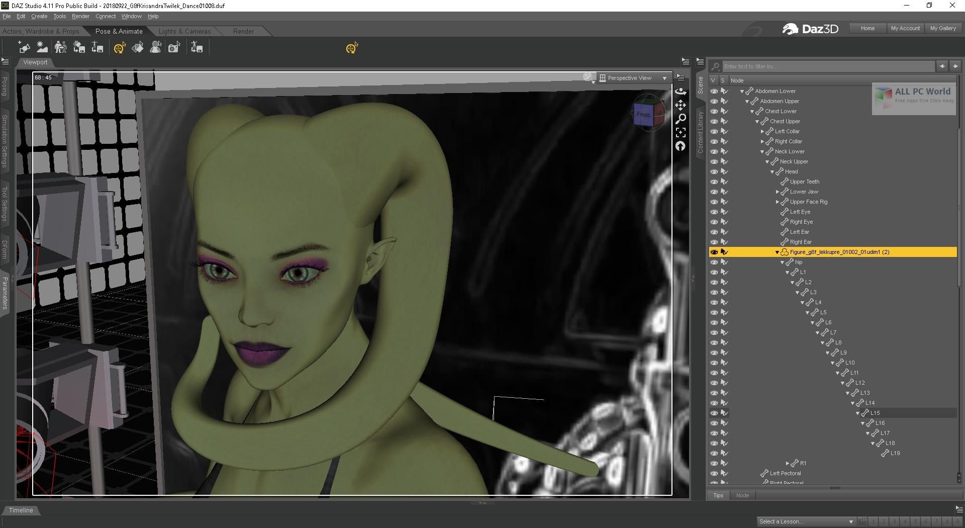 DAZ Studio Pro 2019 v4 11 Free Download - ALL PC World