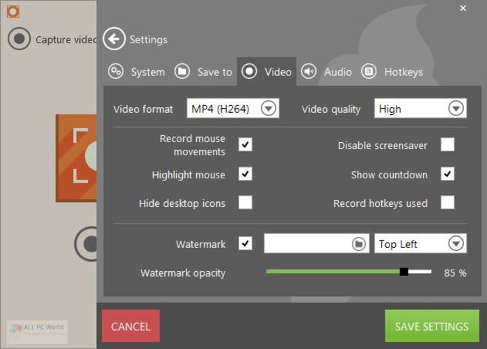 IceCream Screen Recorder 5.9 Free Download