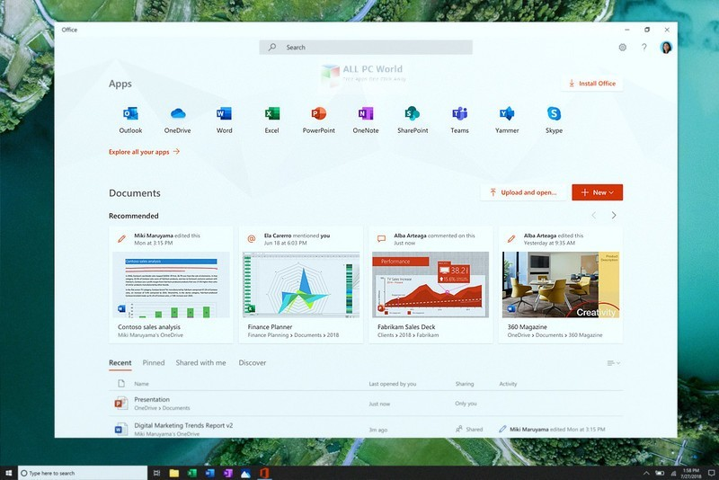 Windows 10 RS6 AIO v1903 June 2019 Free Download - ALL PC World