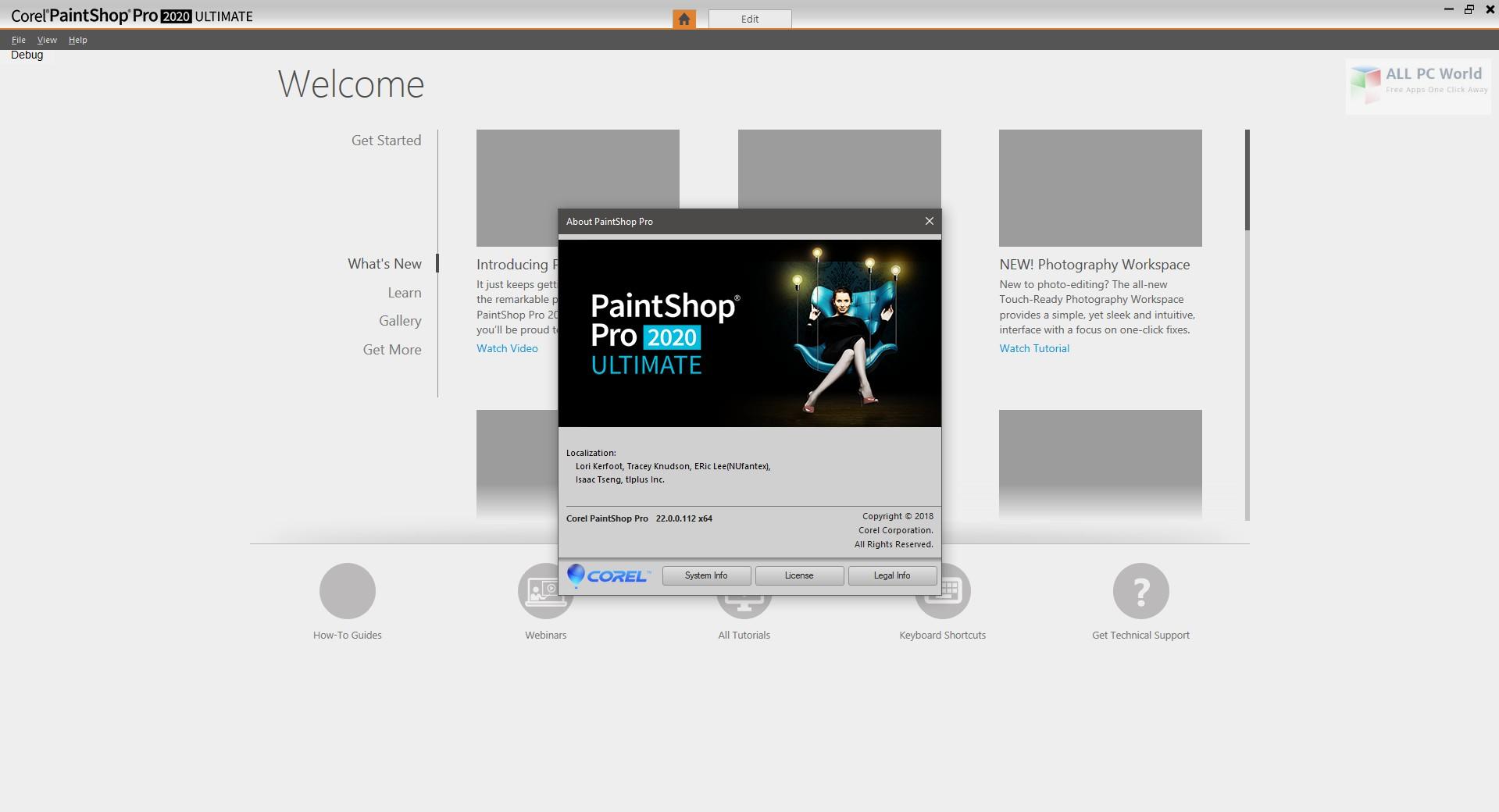 Corel PaintShop Pro Ultimate 2020 v22.0 Free Download