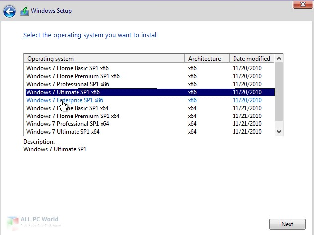 Windows 7 SP1 AIO June 2019 Free Download - ALL PC World