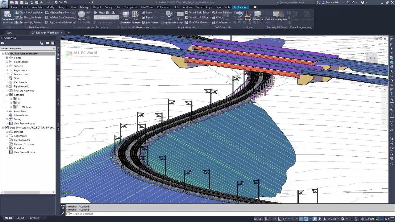Autodesk AutoCAD Civil 3D 2020 - ALL PC World