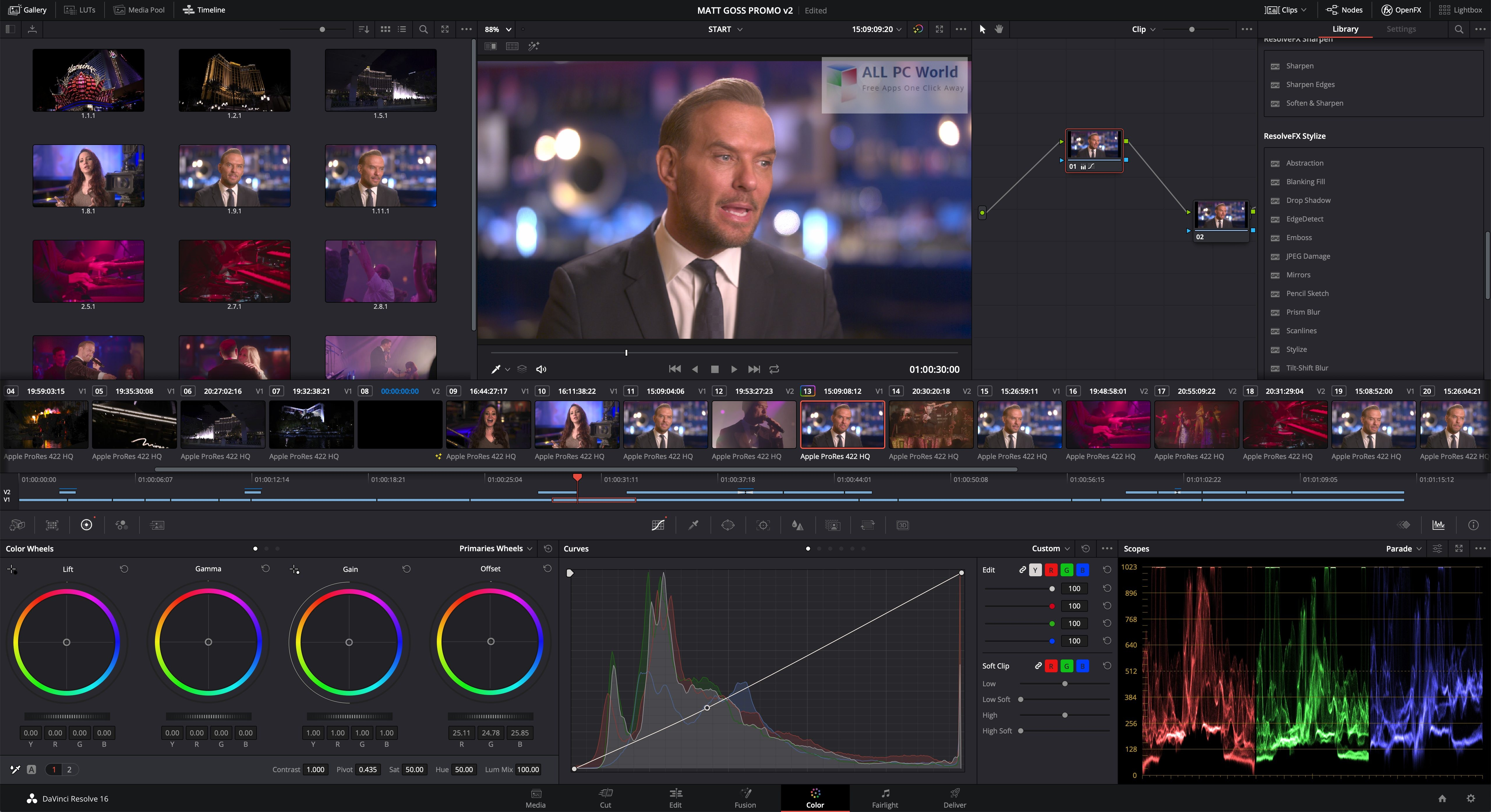 DaVinci Resolve Studio 16.0