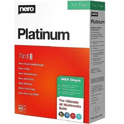 Download Nero Platinum 2020 Suite 22.0