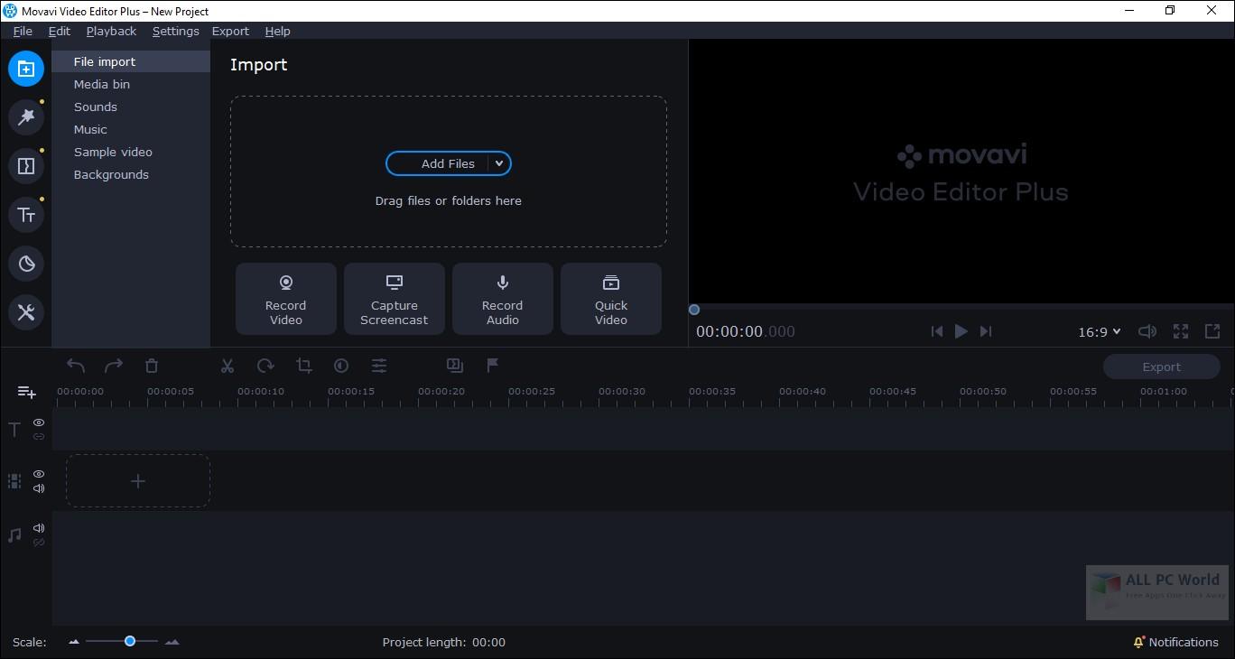 Movavi Video Editor Plus 20.0 Download