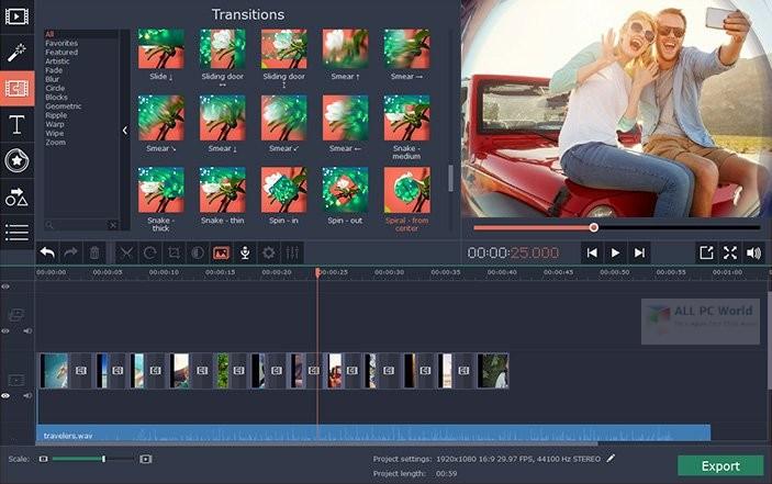 Movavi Video Editor Plus 20.0