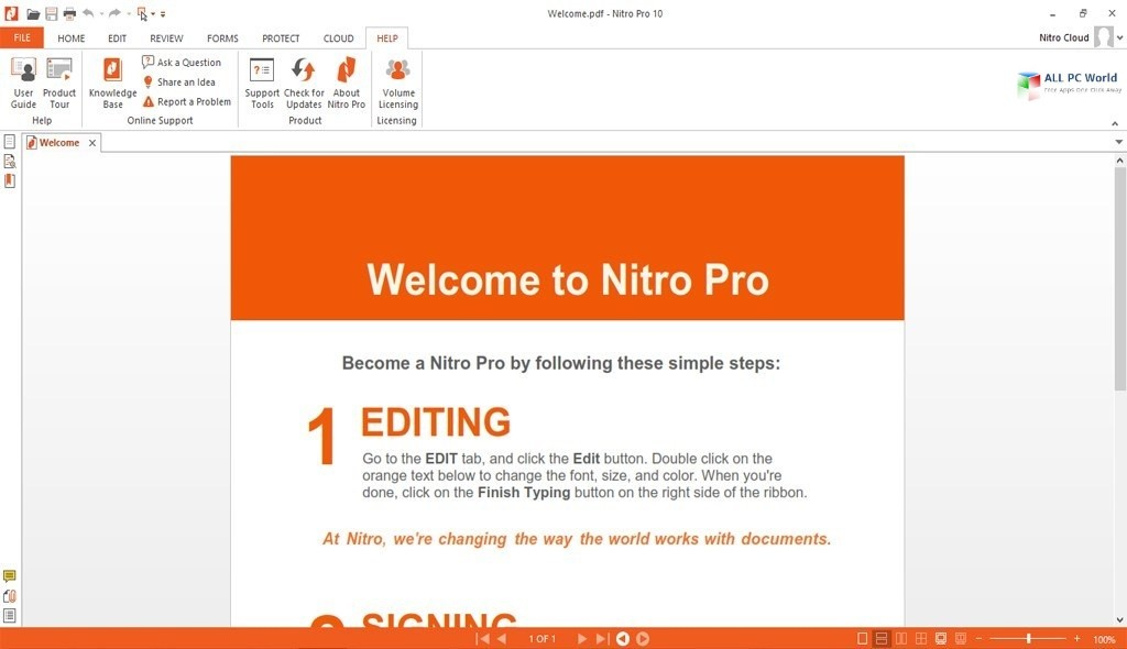 Nitro Pro 13.2
