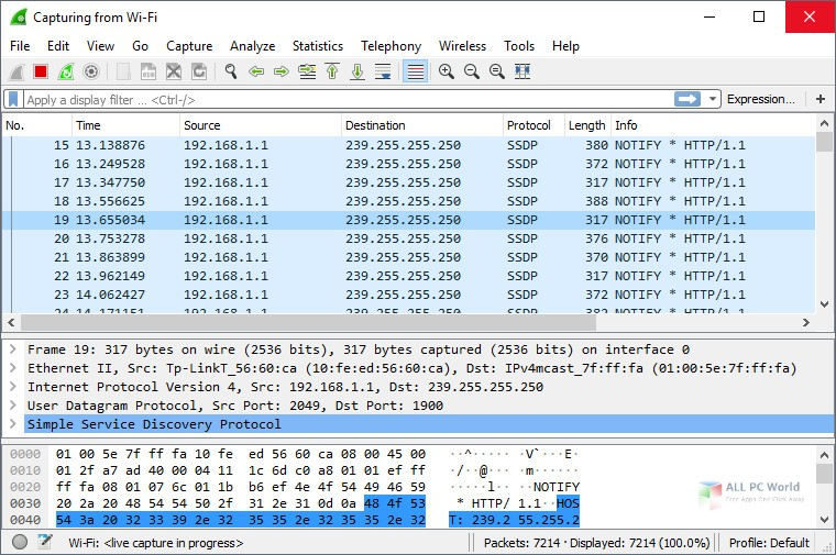 Wireshark 3.0 Free Download