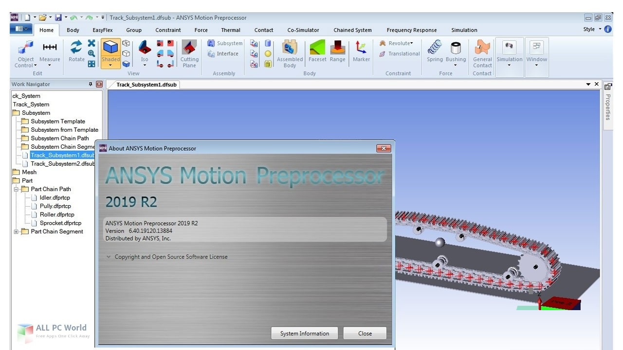 ANSYS Motion 2019 R3 Download