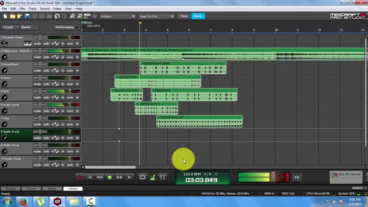 Acoustica Mixcraft Pro Studio 9.0 Free Download