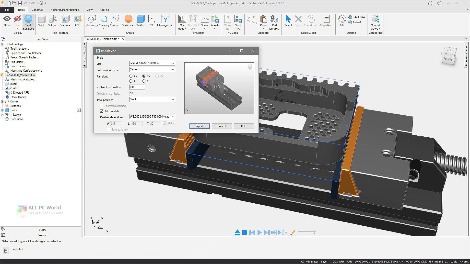 Autodesk FeatureCAM Ultimate 2020 Download