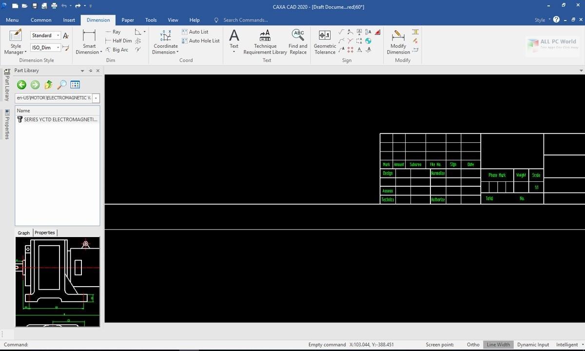 CAXA CAD 2020 SP0 v20.0 Download