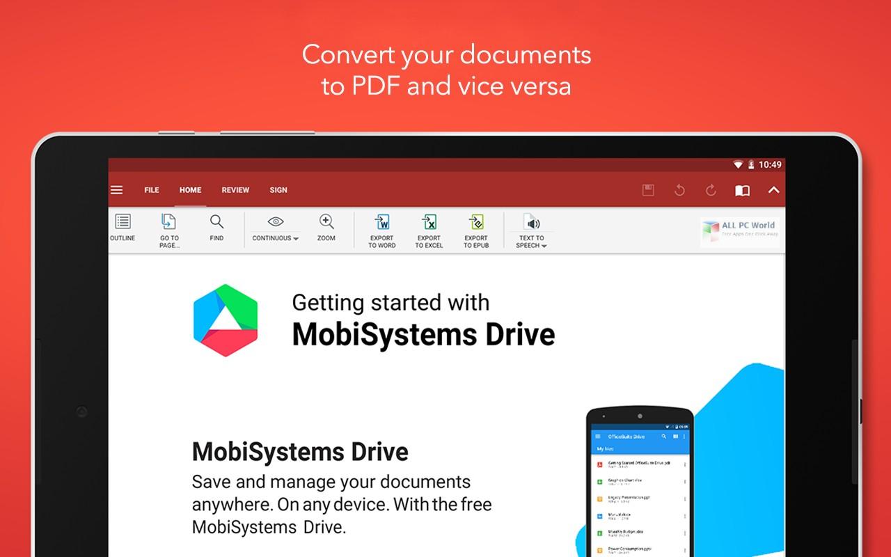OfficeSuite Premium 3.9 Free Download