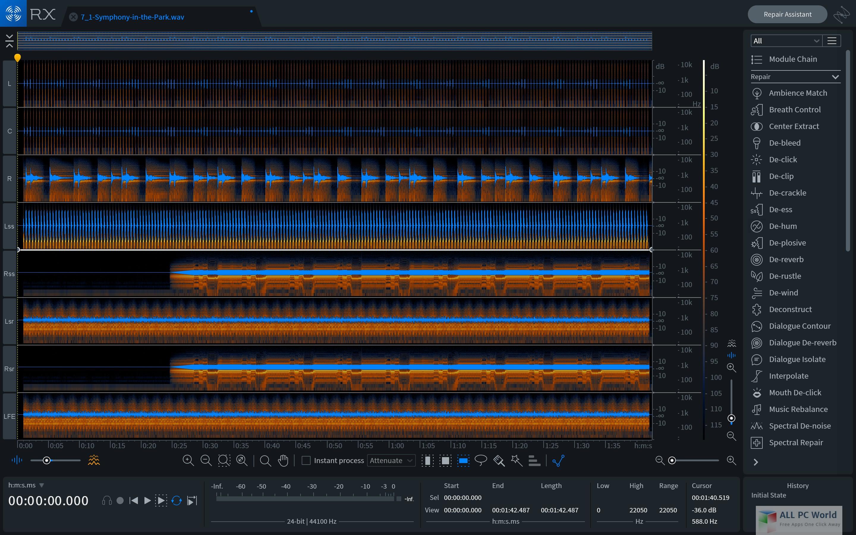iZotope RX 7 Audio Editor Advanced 7.01