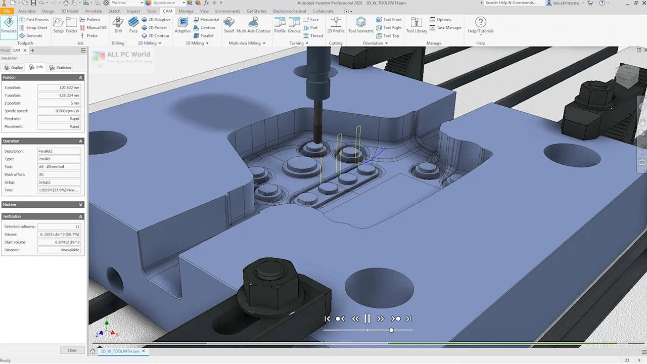 InventorCAM 2020 for Autodesk Inventor x64