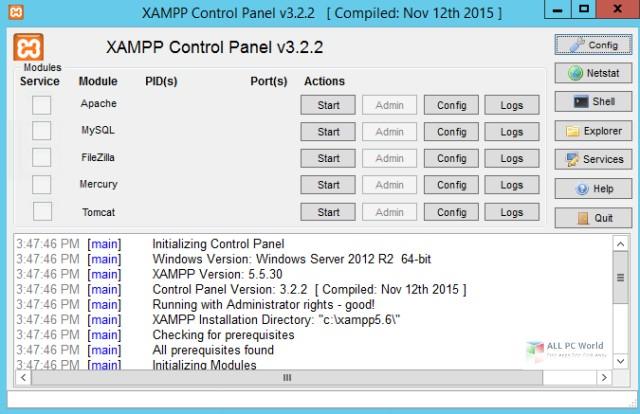XAMPP 7.4.2