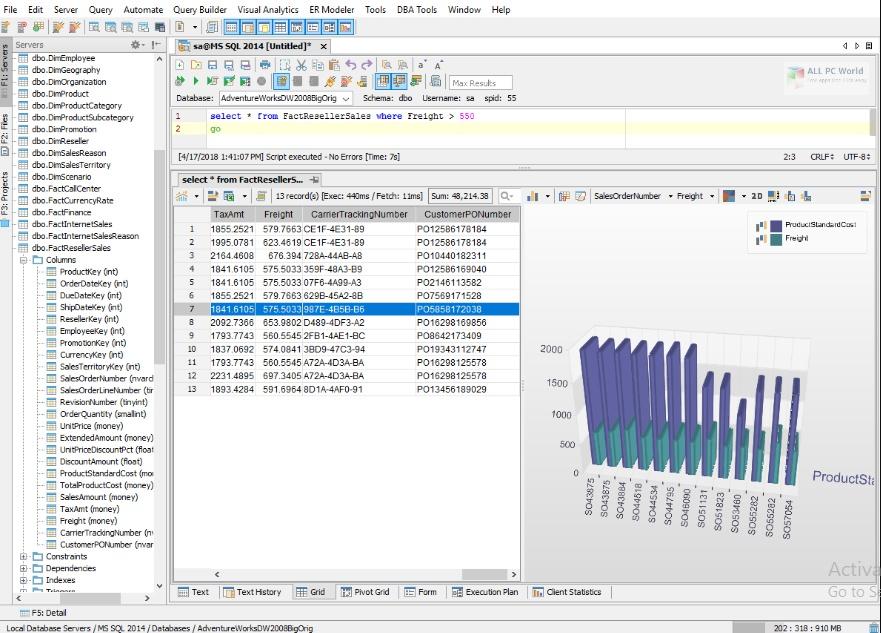 Aqua Data Studio 19.0.2