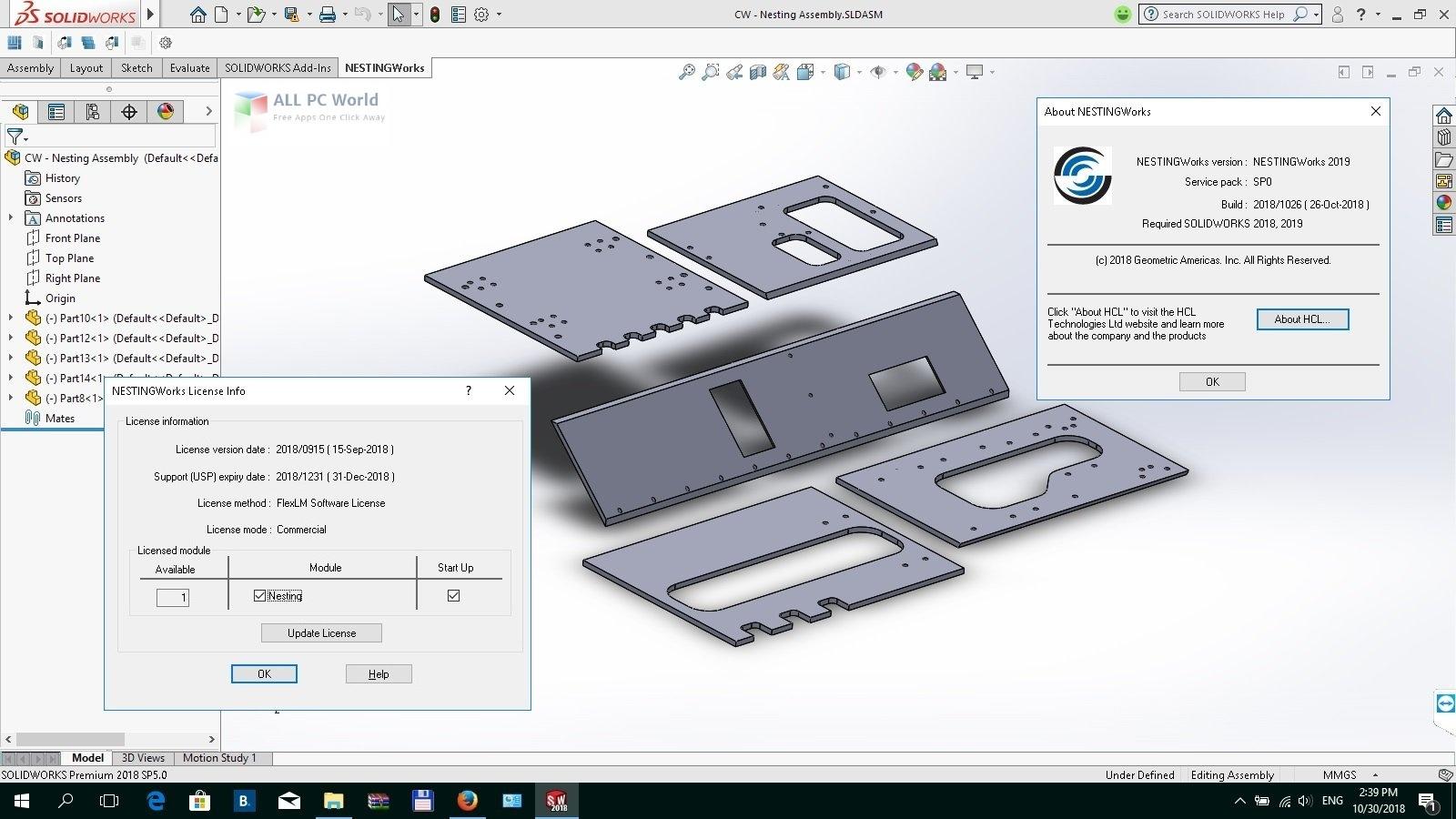 Geometric NestingWorks 2020 SP1
