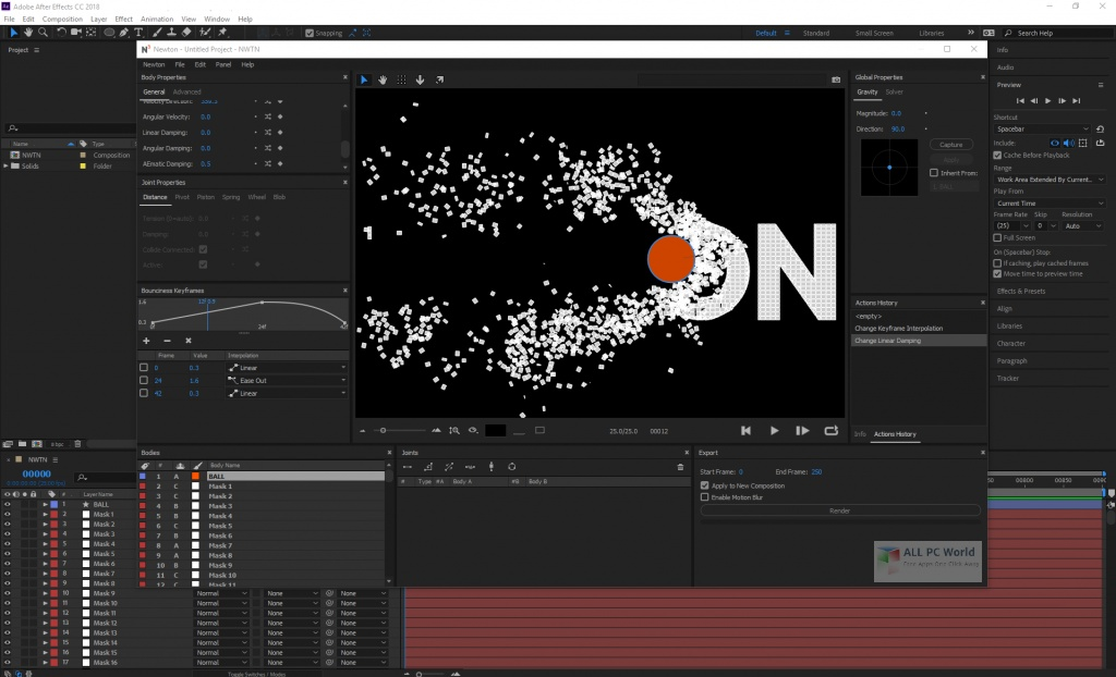 Motion Boutique Newton 3.0 for After Effects Download
