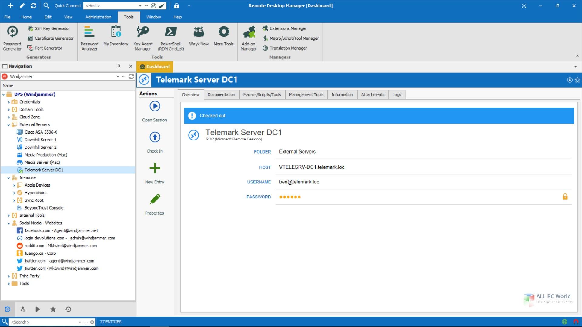 Remote Desktop Manager Enterprise 2020