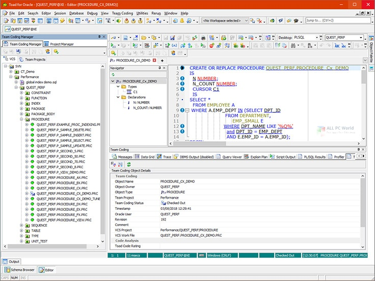 TOAD for Oracle 13.1 Xpert Edition Download (1)