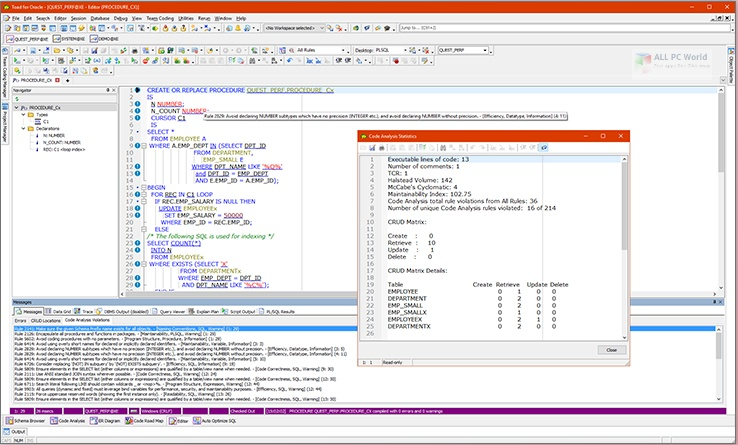 TOAD for Oracle 13.1 Xpert Edition