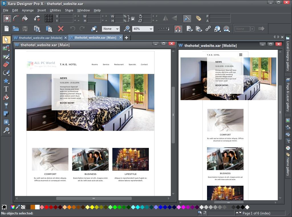 Xara Designer Pro X 17.0 Free Download