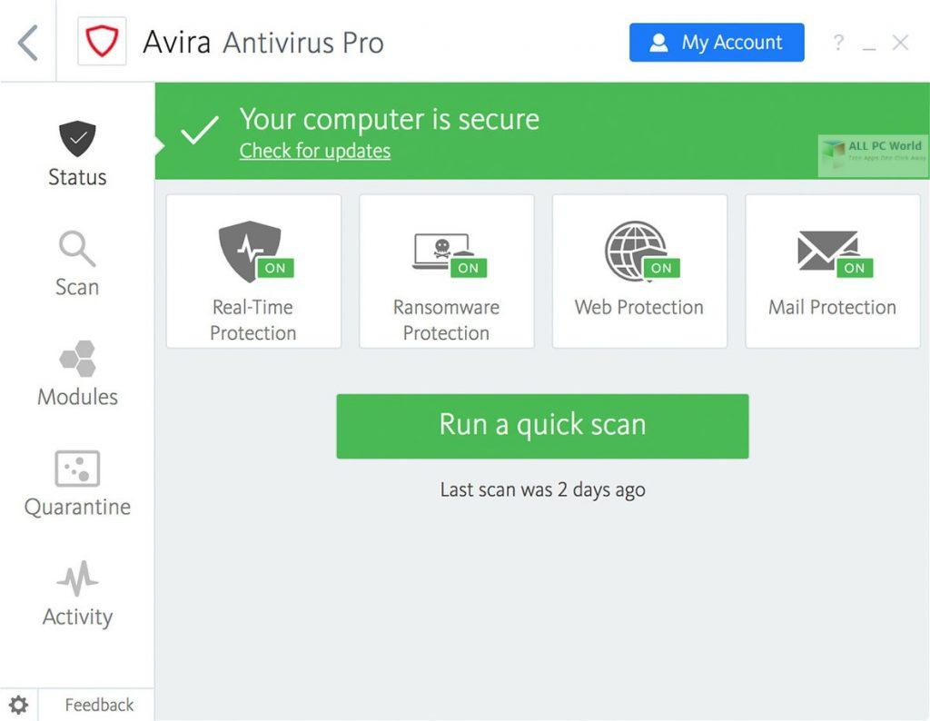 Avira Antivirus 2020 Full Version Download