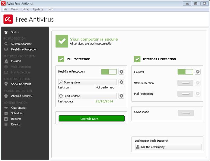 Avira Antivirus Free Download for Windows