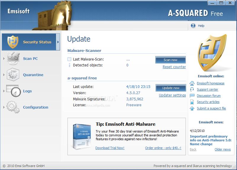 A-Squared Antivirus free download