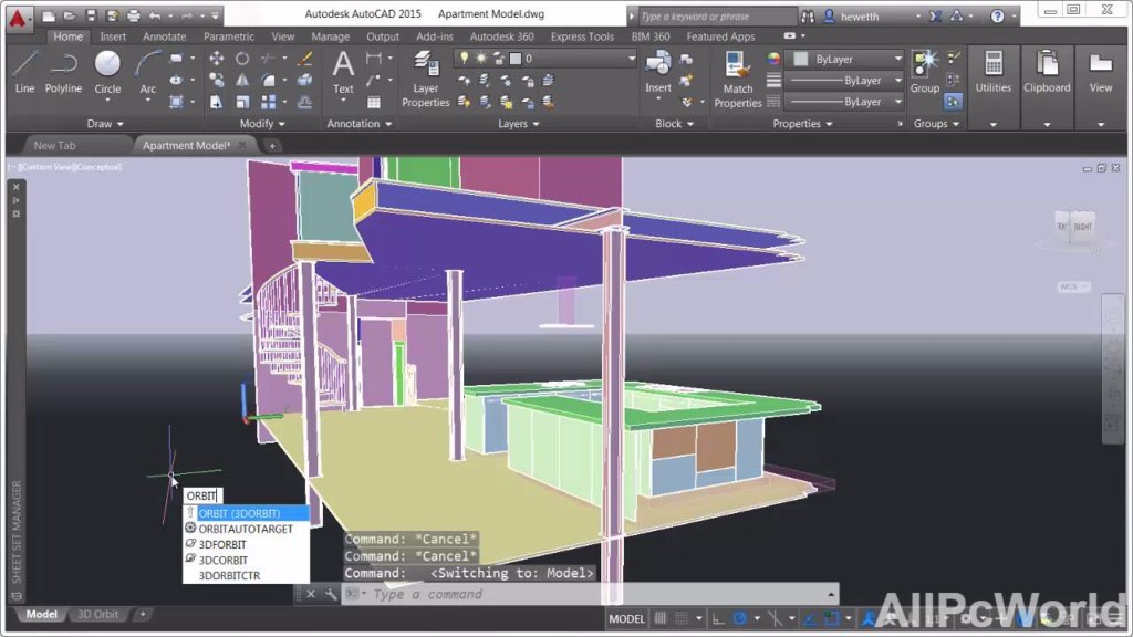 AutoCAD 2015 3D Drawing