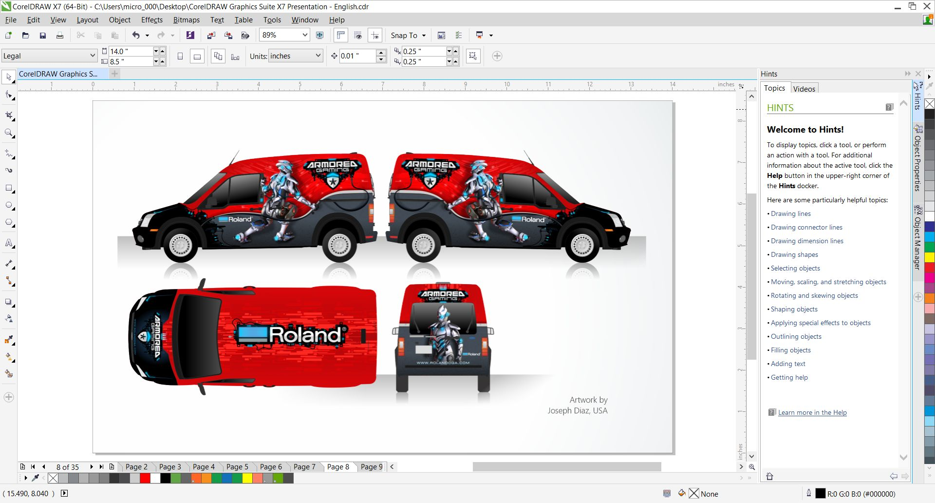 CorelDraw Graphic Suite X7 Free Download