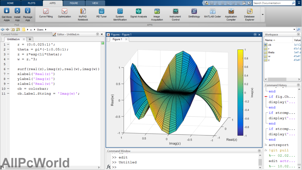 MATLAB Graphs