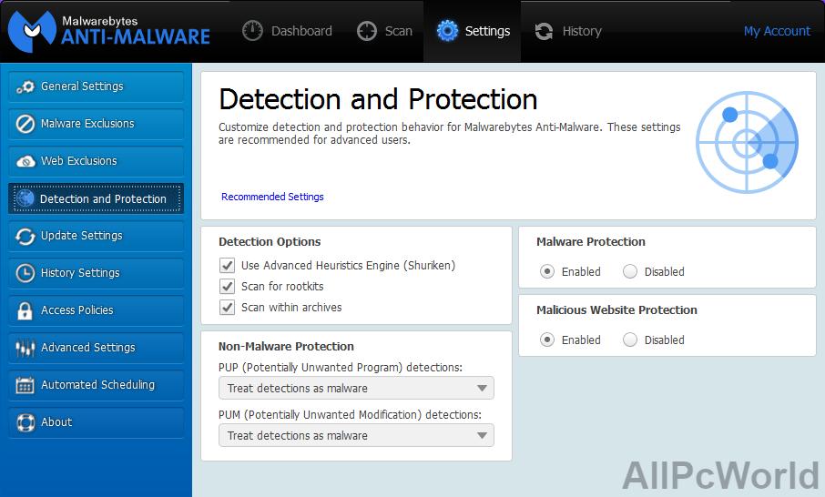Malwarebytes Premium 4.2