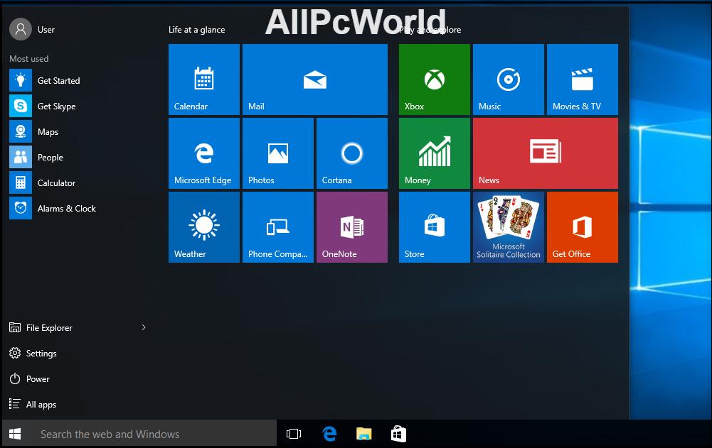 Microsoft Windows 10 Enterprise RTM Free Download 32 64 bit