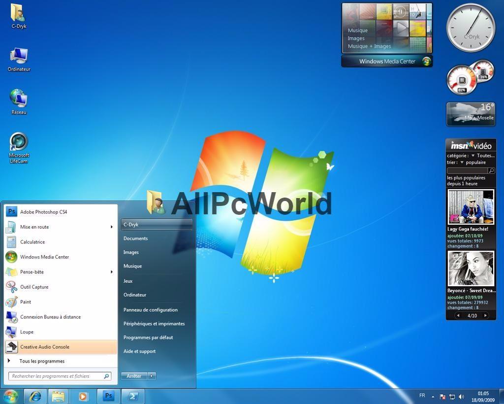 Microsoft Windows 7 Home Premium ISO Free Download x86 and x64