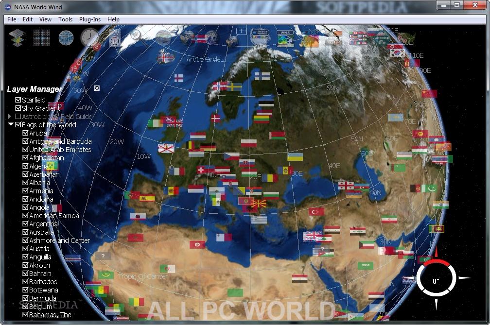 NASA World Wind Free Download