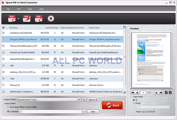 tipard-pdf-to-word-converter-free-download