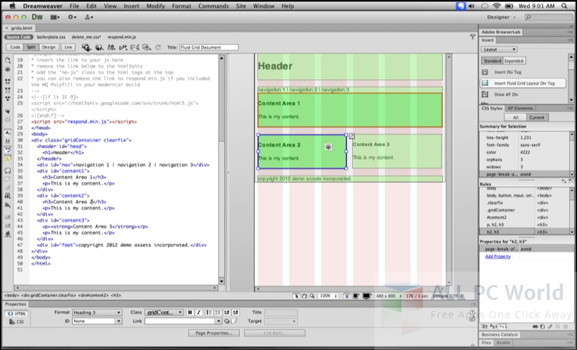 Adobe Dreamweaver CS6 Review and Features