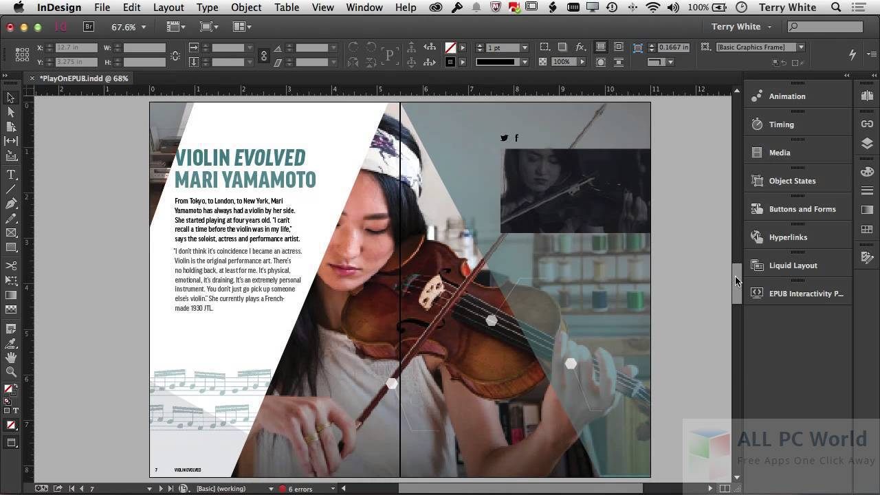 Adobe InDesign CS6 Review and Features