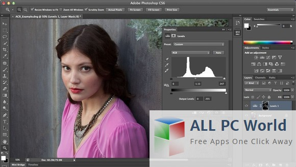 photoshop cs6 software free download for pc