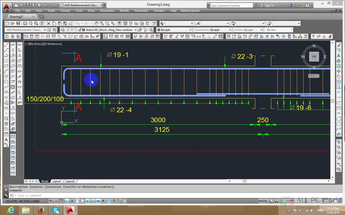 AutoCAD Structural Detailing 2015 Review