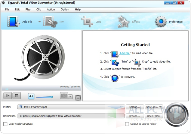 Bigasoft Total Video Converter 6.3 Review and Features