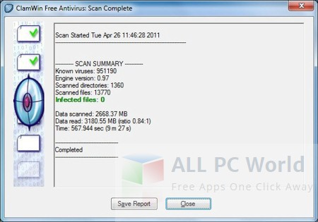 ClamWin Antivirus Review and Features